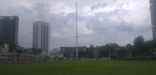 Площадь Независимости. Куала Лумпур