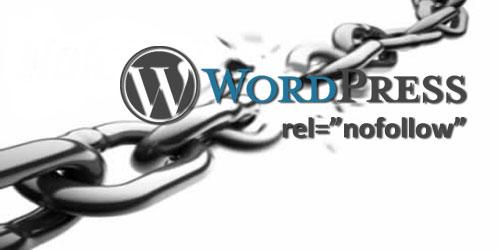 Как поставить nofollow на любые ссылки WordPress