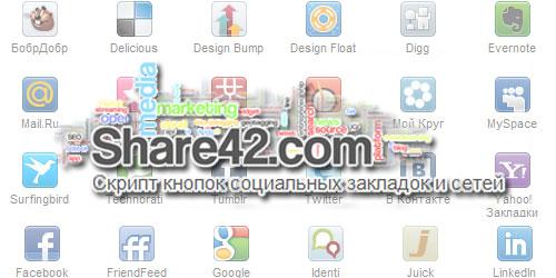 Share42.com - удобное добавление в социальные сети и закладки