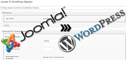 Миграция с Joomla на Wordpress