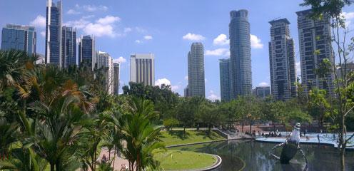 Центральный парк Куала Лумпура